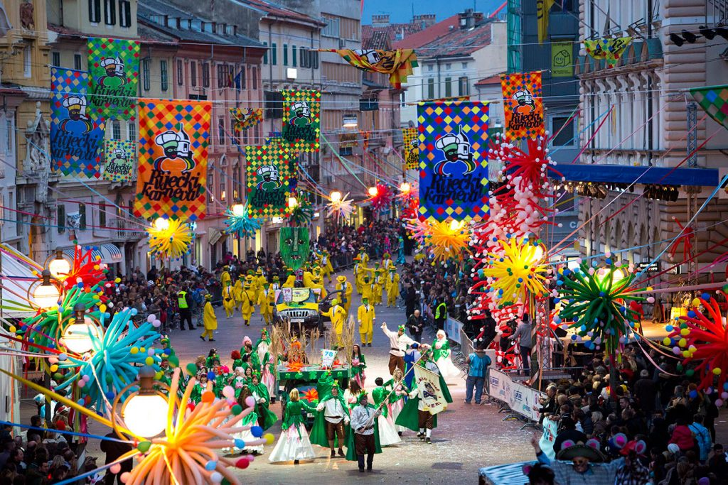 carnaval in Rijeka
